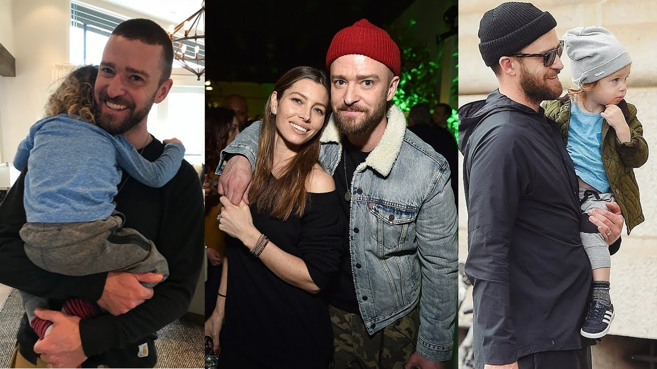 b033d704e13 Justin Timberlake s Family - 2018  Wife Jessica Biel   Son Silas Randall  Timberlake . Spotlight