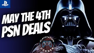 AMAZING May The 4th PSN Sale Live Right Now! Playstation Store Deals for Star Wars Day PS4/PS5!