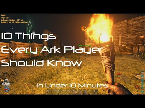 ARK Survival Evolved: 10 Things Every Player Needs To Know