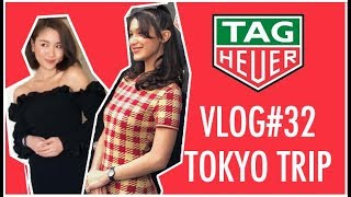 🎃VLOG#32 東京之旅x Bella Hadid ft. Tag Heuer  | Pumpkin Jenn🎃