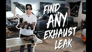 Find ANY exhaust leak in under 5 minutes!!