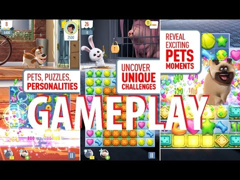 The Secret Life of Pets: Unleashed Gameplay iOS / Android Video HD