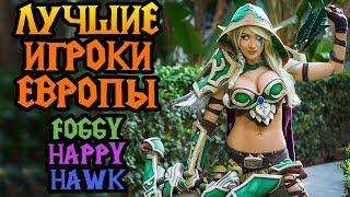 Гранды Европы играют в Warcraft 3. Ryzing Star Cup #7 Часть №2