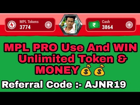 Mpl Use App And Referral Code And Unlimited Token Coupon Code Hack