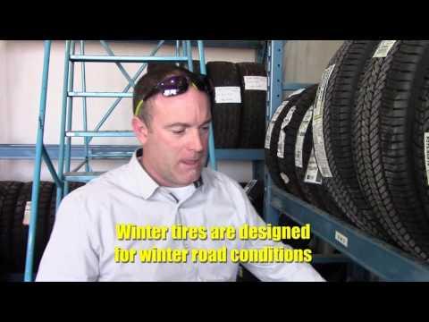 Ford Tech Tips - Choosing Winter Tires