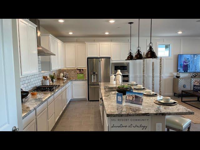 New Homes For Sale Las Vegas | Luxury Single Story | 55+ Resort Community $479k+ 2,061sf 3BD+Den
