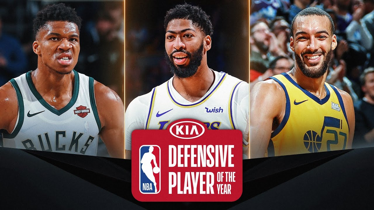 #KiaDPOY Three Finalists | 2019-20 NBA Season