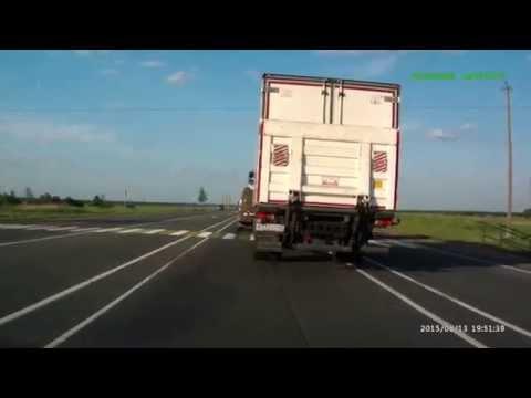 авария на мурманском шоссе.июнь 2015 года