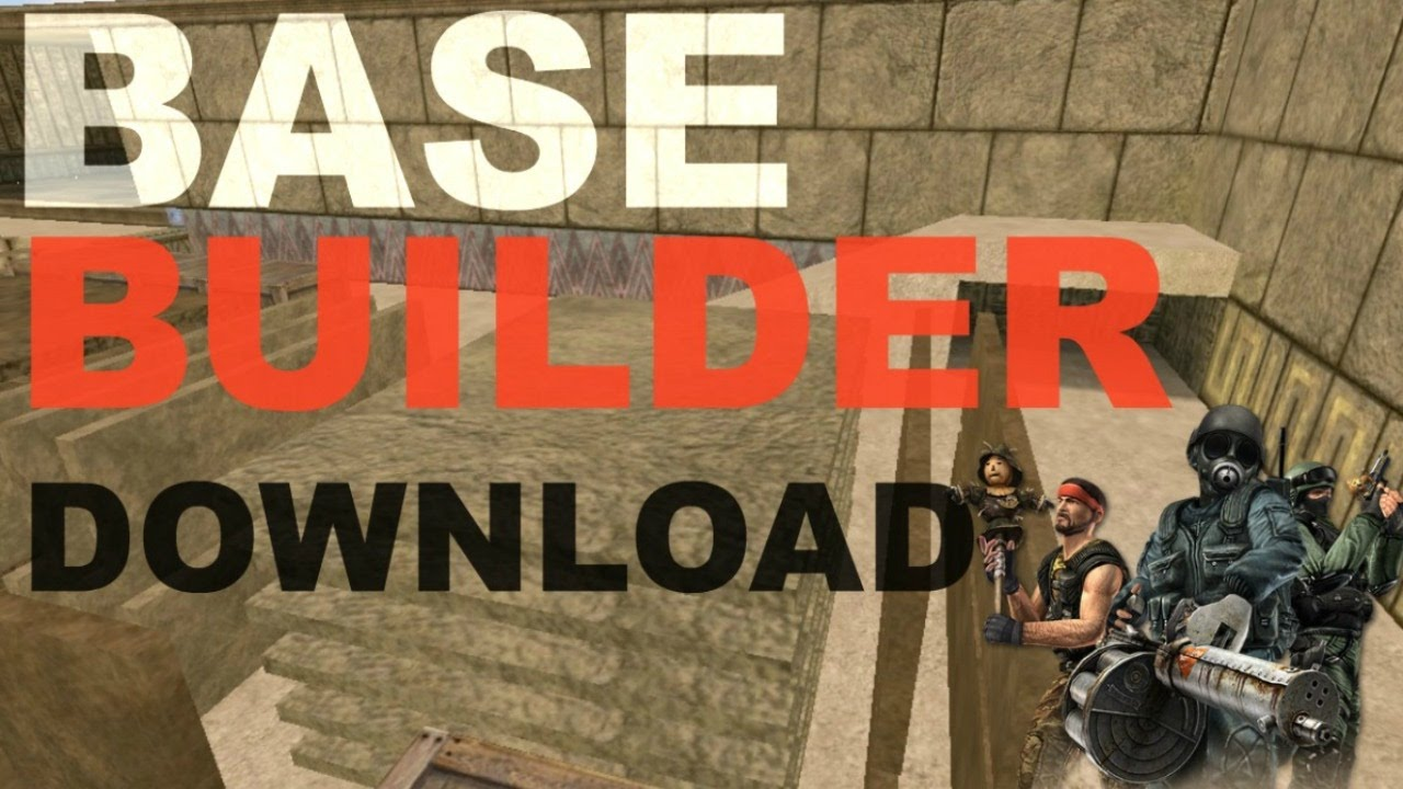 [CS 1.6] Mod - Base Builder 6.5 (Rus)