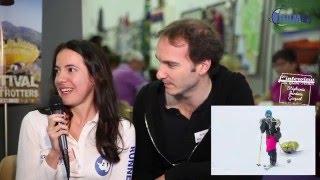 Stéphanie et Jérémie Gicquel, Across-Antartica, par ABM-TV