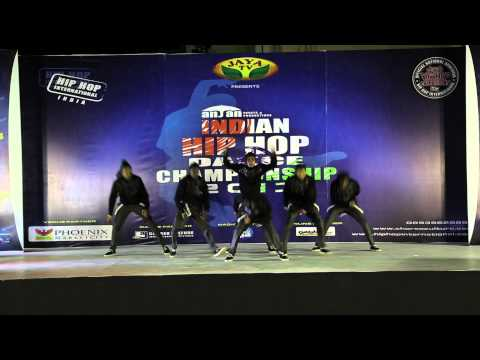 13.13 crew (gold medalist) INDIAN HIP HOP DANCE CHAMPIONSHIP 2013