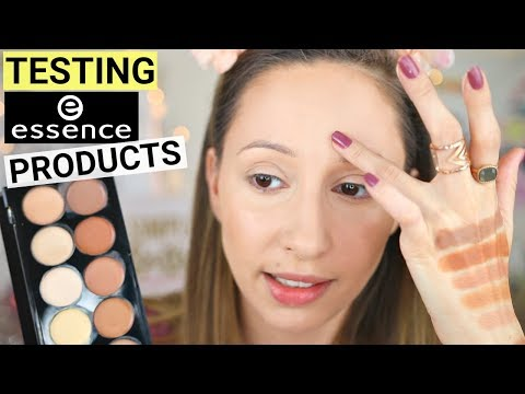 TESTING NEW ESSENCE FACE PRODUCTS 2018   FIRST IMPRESSIONS + WEAR TEST (Hit or Miss??)