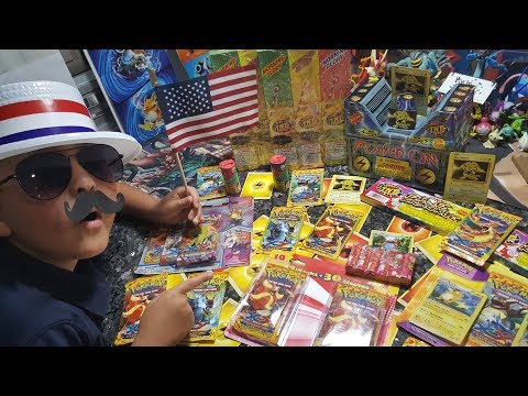 POKEMON FIREWORKS!! Opening FLASHFIRE WORKS BOOSTER PACKS!! UNBELIEVABLE PULL! Happy 4th Of July!!