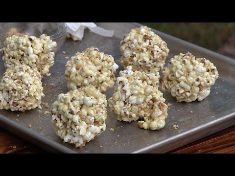 Sorghum Popcorn Balls