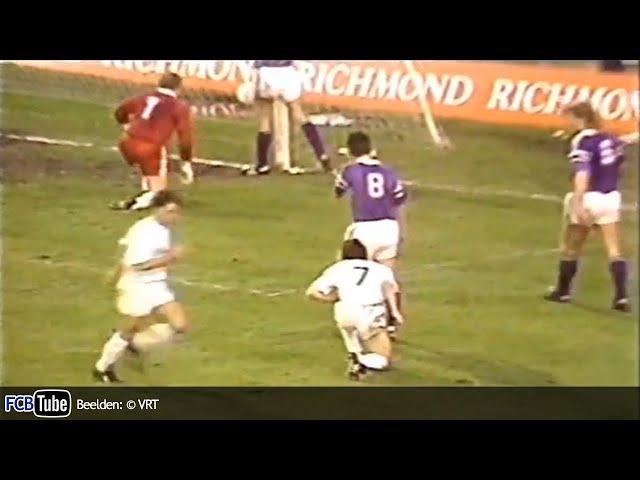 1988-1989 - Beker Van België - 06. Kwartfinale - Club Brugge - RSC Anderlecht 1-2