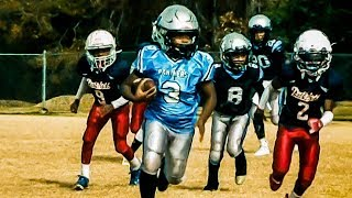 Welcome All Panthers 9U Black vs Sandy Creek Patriots Youth Football Highlights