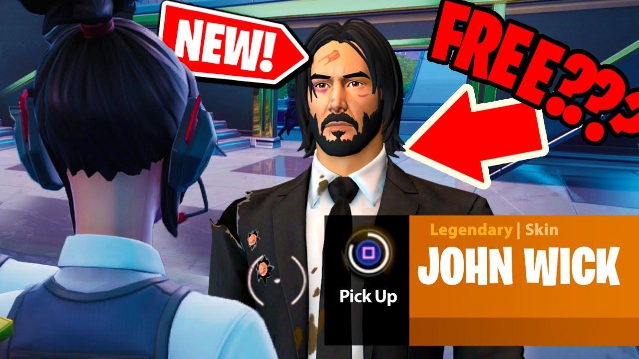 John Wick Fortnite Skin 2021 New How You Can Still Get John Wick Skin From John Wick 3 Parabellum In Fortnite Youtube