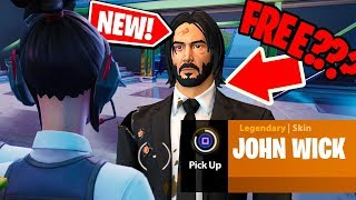 NEW! How you can still get JOHN WICK skin from JOHN WICK 3: PARABELLUM in Fortnite