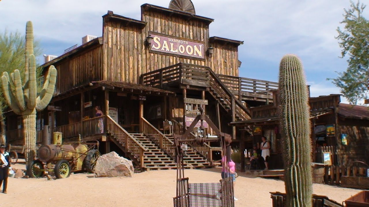 Goldfield Ghost Town Train Ride and Tour Apache