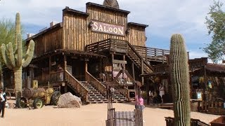 """Goldfield Ghost Town"" Train Ride and Tour, Apache Junction, ARIZONA"
