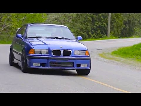 Tire-Punishing 675 HP E36 BMW M3 Turbo | A Euro Icon