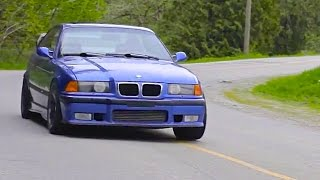 tire punishing 675 hp e36 bmw m3 turbo   a euro icon