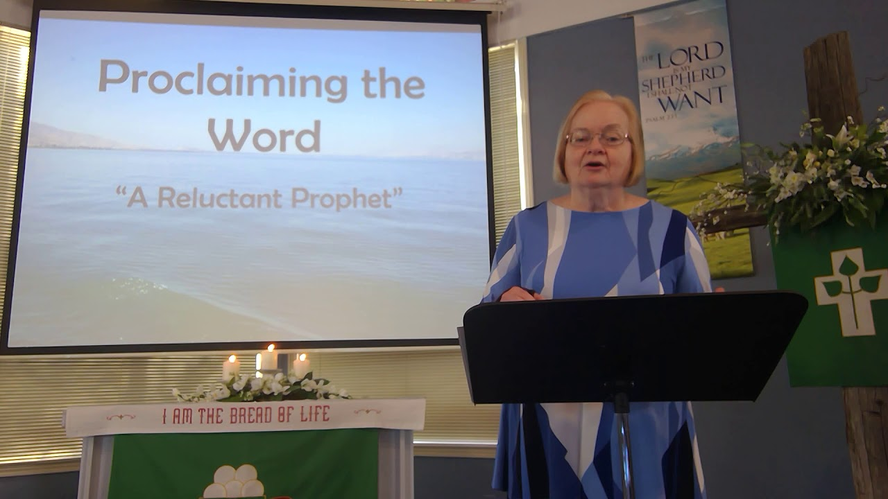 """January 24, 2021 ~ Rev. Julia Price ~ """"A Reluctant Prophet"""""""