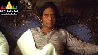Vikramarkudu Movie Vikram Rathod and Bavuji Scene | Ravi Teja, Anushka | Sri Balaji Video