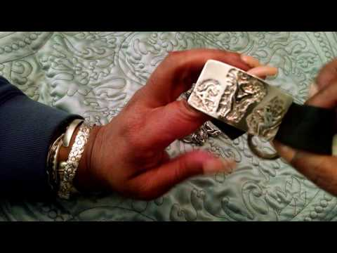 ASMR Erotic Jewelry Collection Show & Tell (whispering, gum chewing & jewelry cleaning)