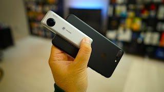 حول جهاز الأي فون الى كاميرا 360 مع Insta360 Nano