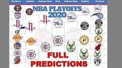 Early 2020 NBA Playoff Predictions + Award Winners