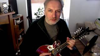 Elizabeth Kelly's Delight (slip jig) on mandolin