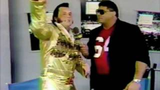 "Honky Tonk Man and The Vote of Confidence Funny WWF Wrestling Promo "" I am gonna Slap some Babies !"