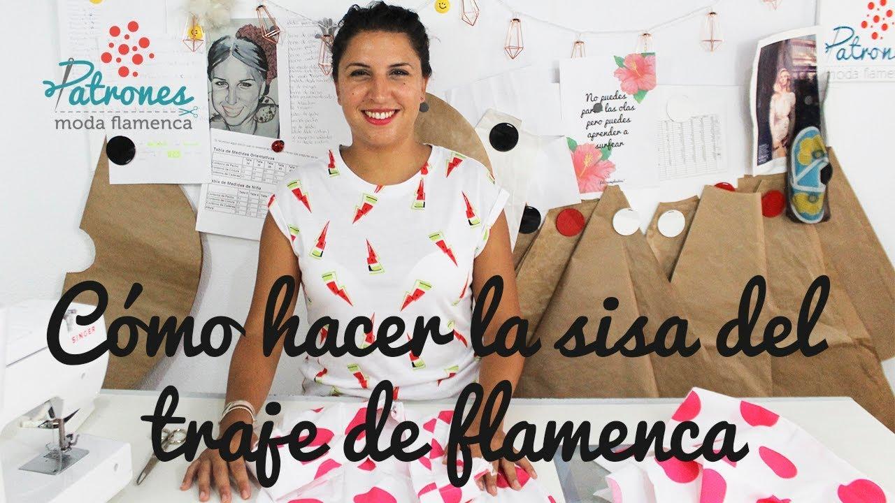 77ea4da3d0ea Cómo hacer la sisa del traje de flamenca (cuando no tiene mangas)