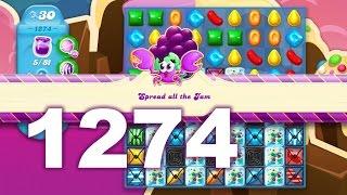Candy Crush Soda Saga Level 1274 (3 stars, No boosters)