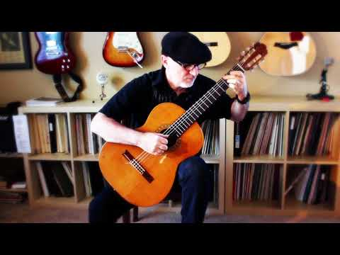 Aura Lee  (Love Me Tender - Elvis Presley) - Michael Lucarelli, classical guitar