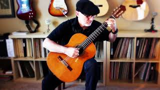 Aura Lee  (Love Me Tender - Elvis Presley) - Michael Lucarelli, classical guitar
