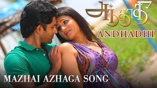 Mazhai Azhaga Full Video Song Andhadhi New Tamil Song Arjun Vijayaraghavan Anjena Kirti