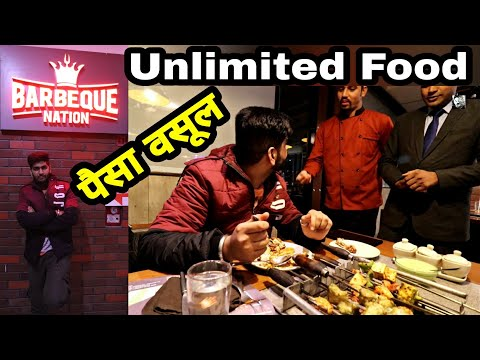 Barbeque Nation Unlimited Buffet Price Delhi NCR Gurgaon With पैसा वसूल Food Review ENGINEER SINGH