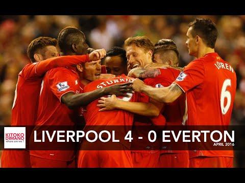 Liverpool vs Everton 4 0 highlight April 2016