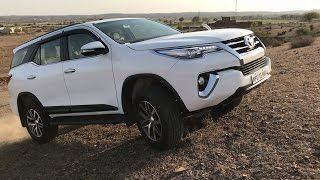 Toyota Fortuner 2017   Real-life review