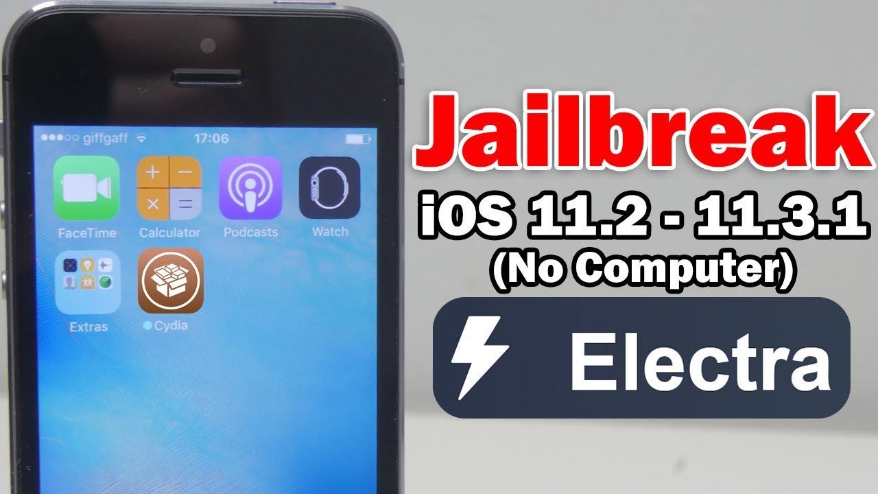 How to Jailbreak iOS 11 2 – 11 3 1 Using Electra & Install