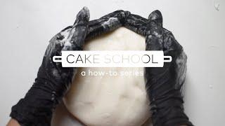 Cake School: How To Make Marshmallow Fondant