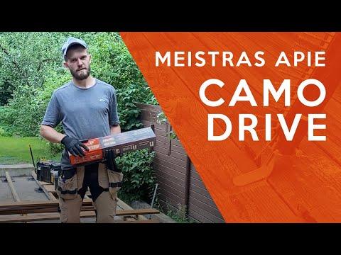CAMO Drive įrankis   Meistro Igno komentaras   MDS Terasos
