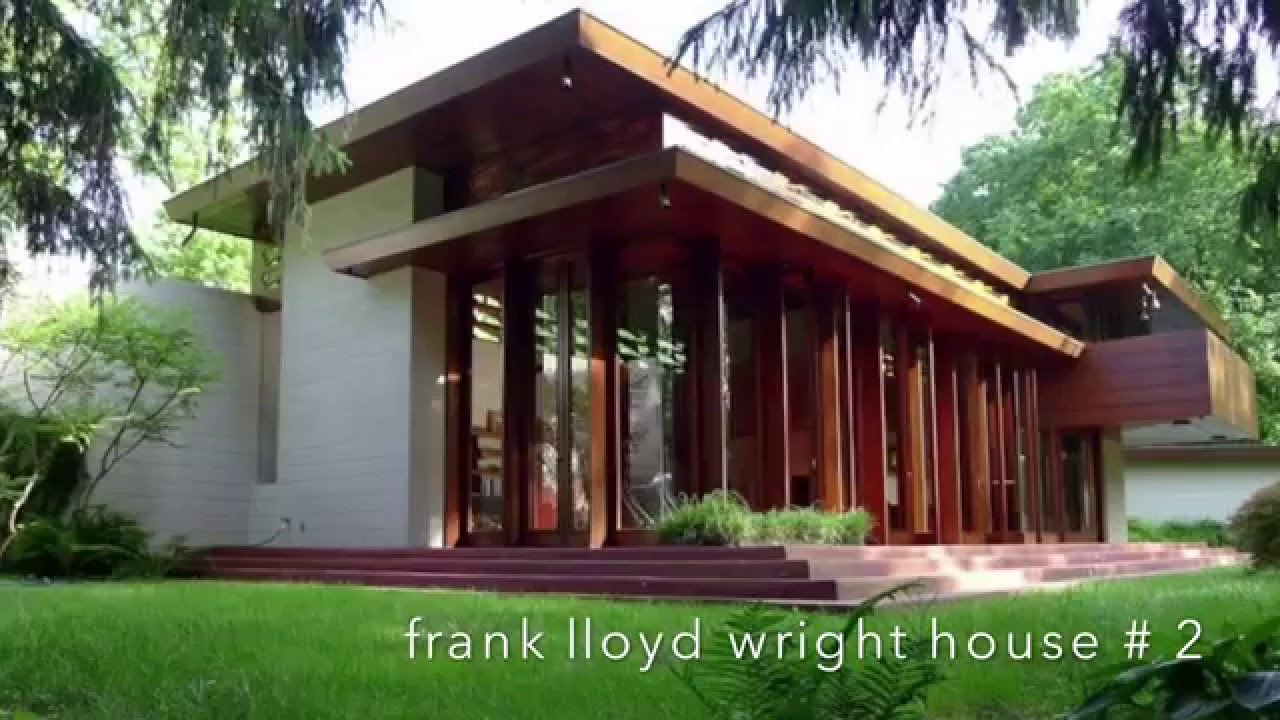 Top 5 Amazing Architectural House Designs - Frank Lloyd Wright ...