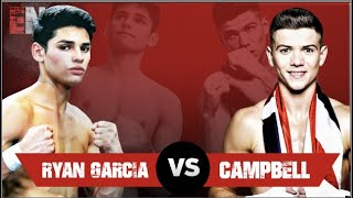 BREAKING NEWS: Ryan Garcia Agrees To Fight Luke Campbell. Full Coverage & Official Announcement