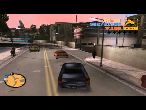 Grand Theft Auto III - Import/Export (Portland Harbor) - Fbi Car