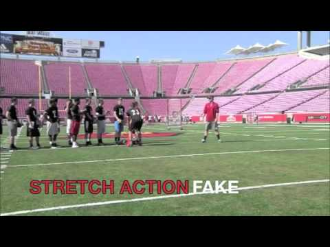 Matt Williams Quarterback drills