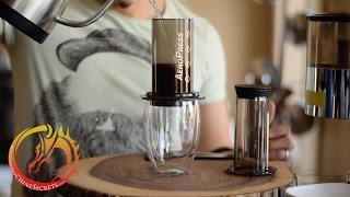 How to make Great Coffee with the Aeropress (traditional method)