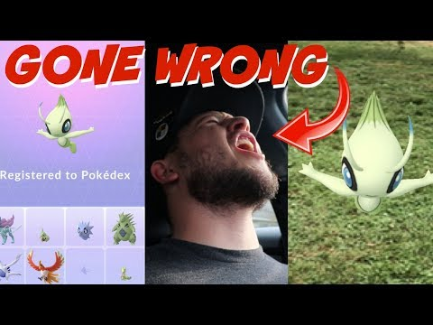 CELEBI RESEARCH QUEST GONE HORRIBLY WRONG!......... IN POKEMON GO. thumbnail